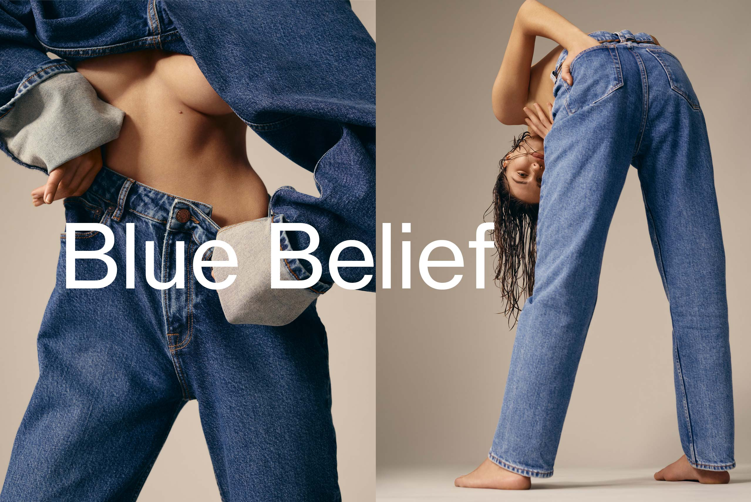 Blue Belief Women's fashion and Men's Fashion H1