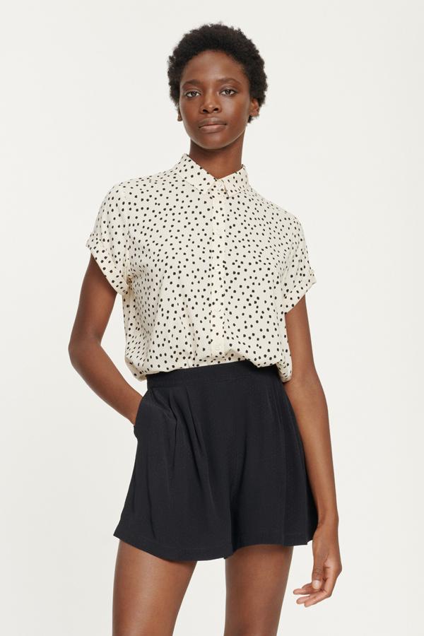 Majan ss shirt aop 9942 Women's fashion