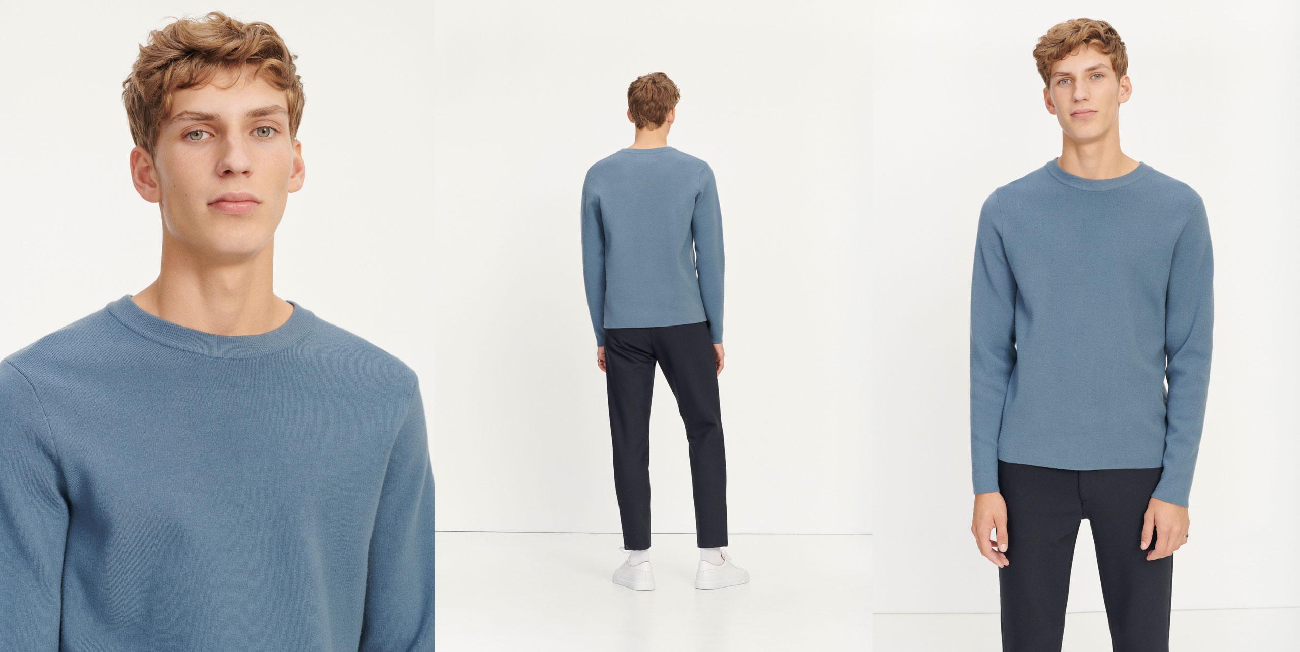 Gunan crew neck 10490 Men's fashion