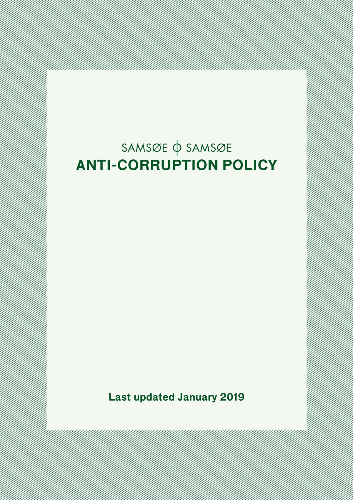 Anti Corruption policy 1