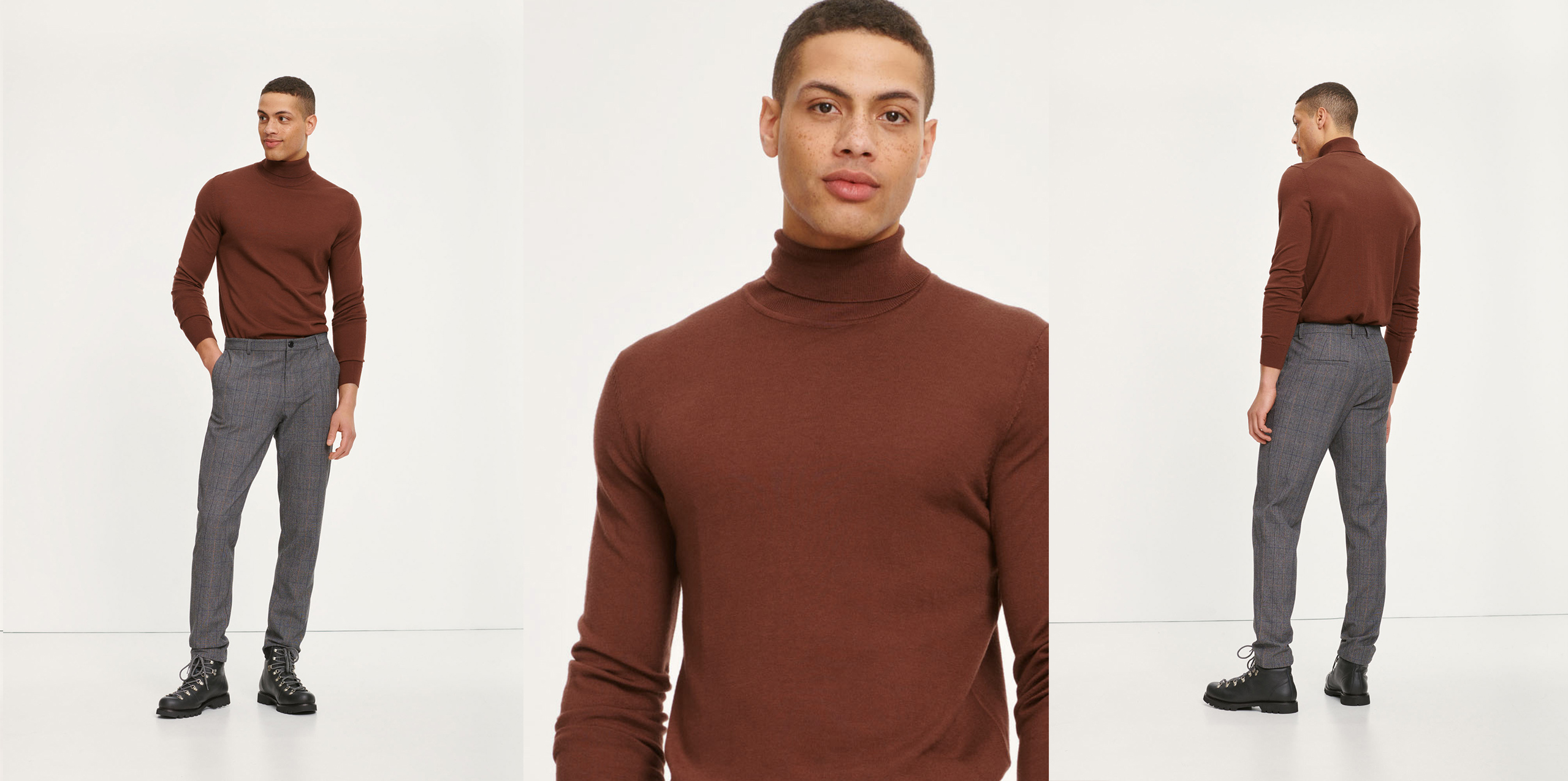 Flemming turtle neck 3111 Men's fashion