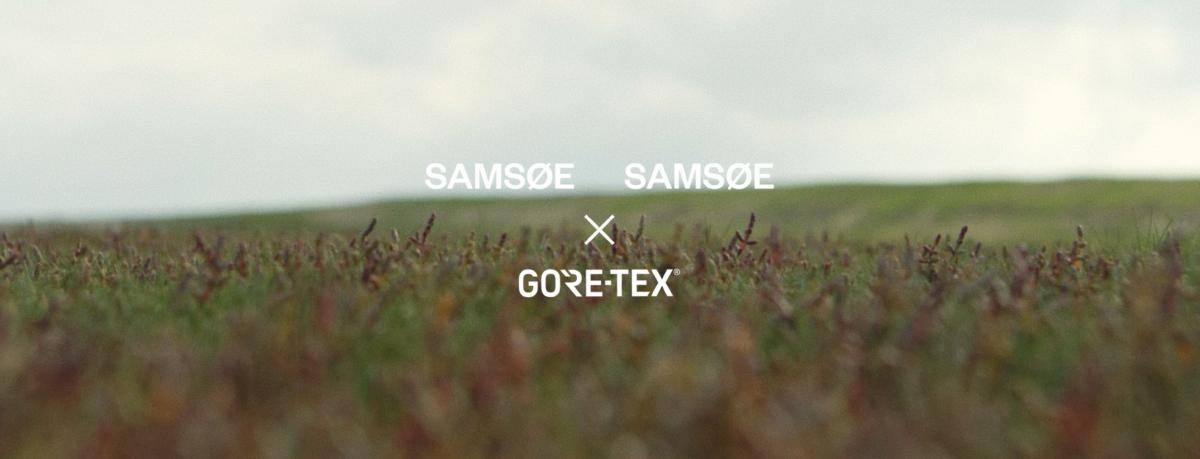 2021SS Samsøe Samsøe x Gore-tex