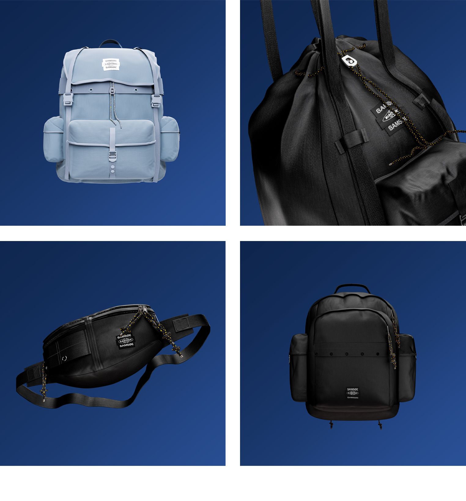Samsoe Samsoe x eastpak Women's fashion and Men's Fashion M