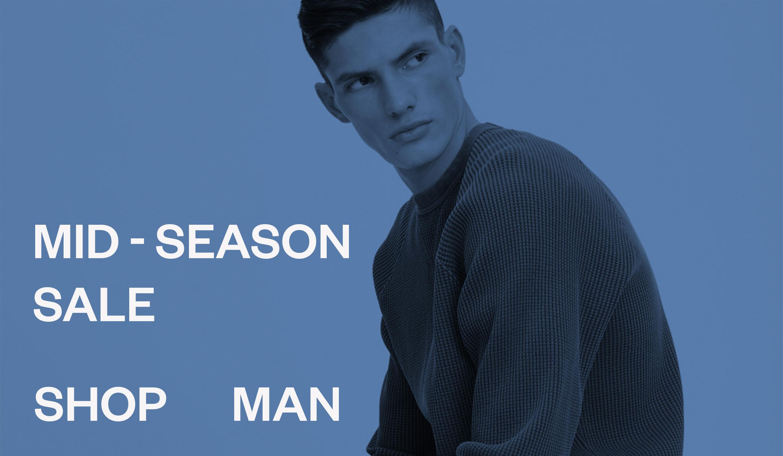Man Mid-Season sale men's style