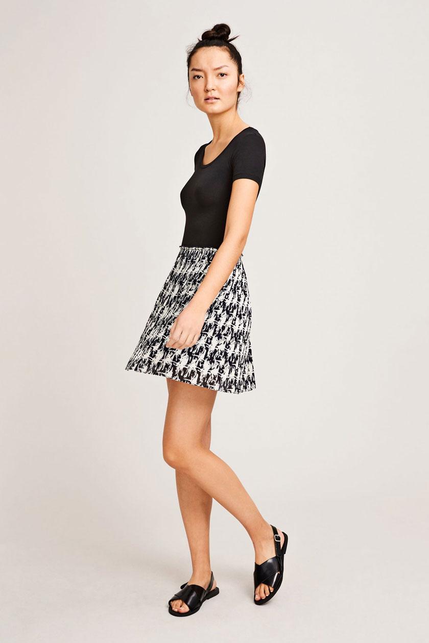 Lei p skirt aop