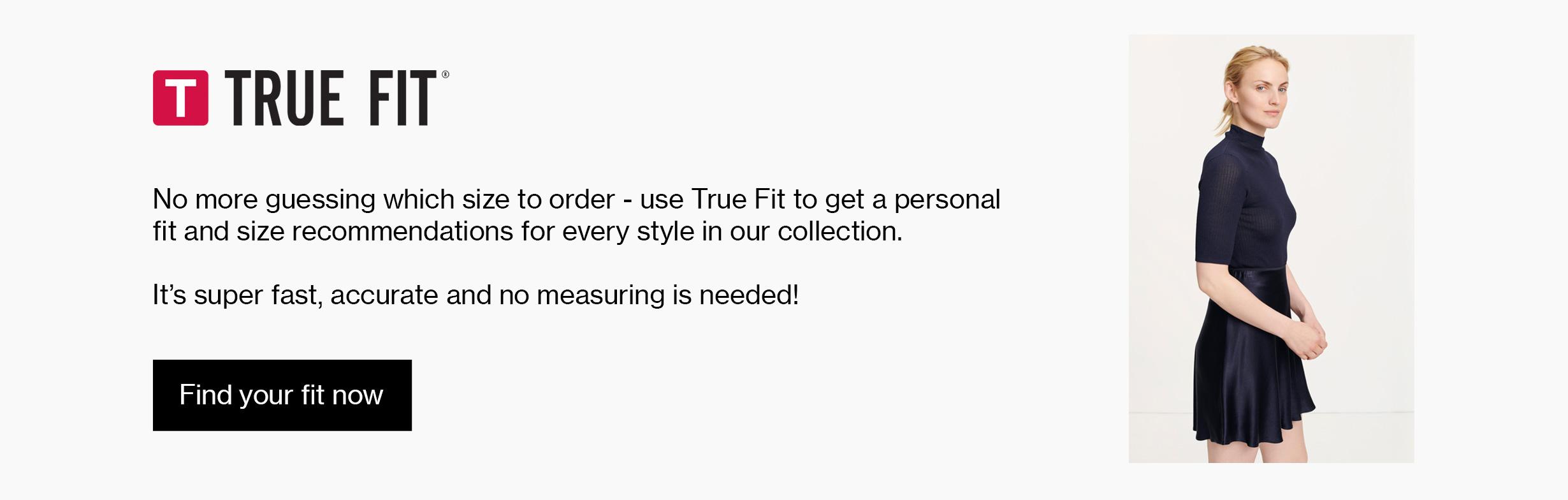 True Fit Online fashion store