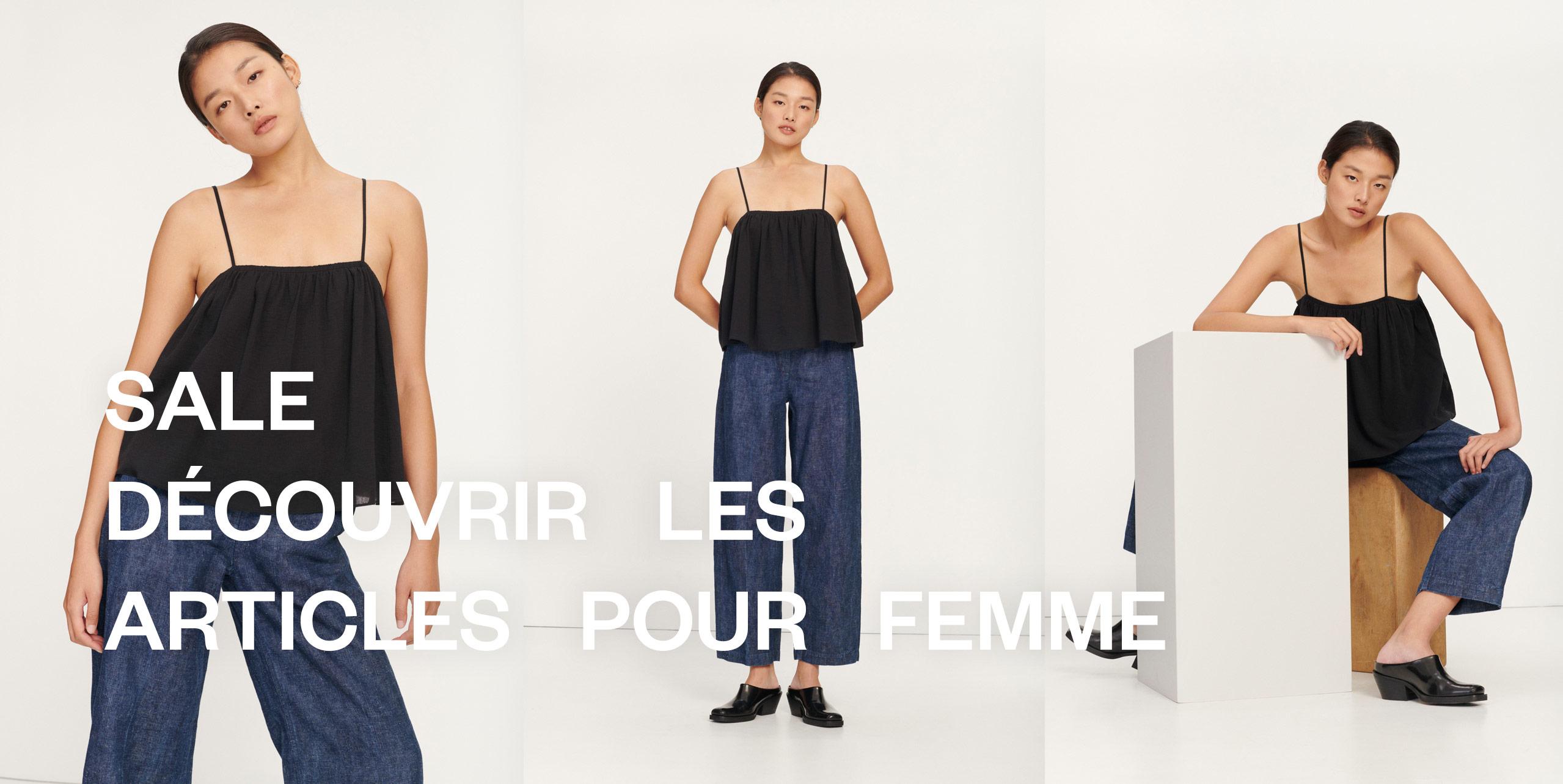 Les soldes Mode féminine