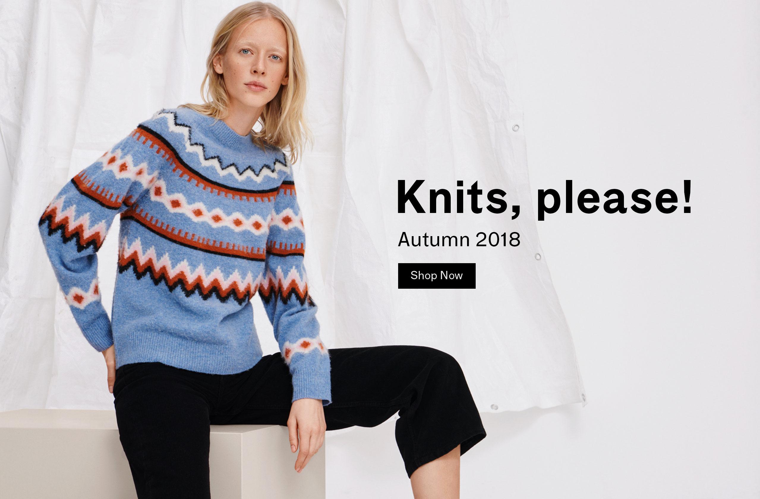 Woman Knits, please!