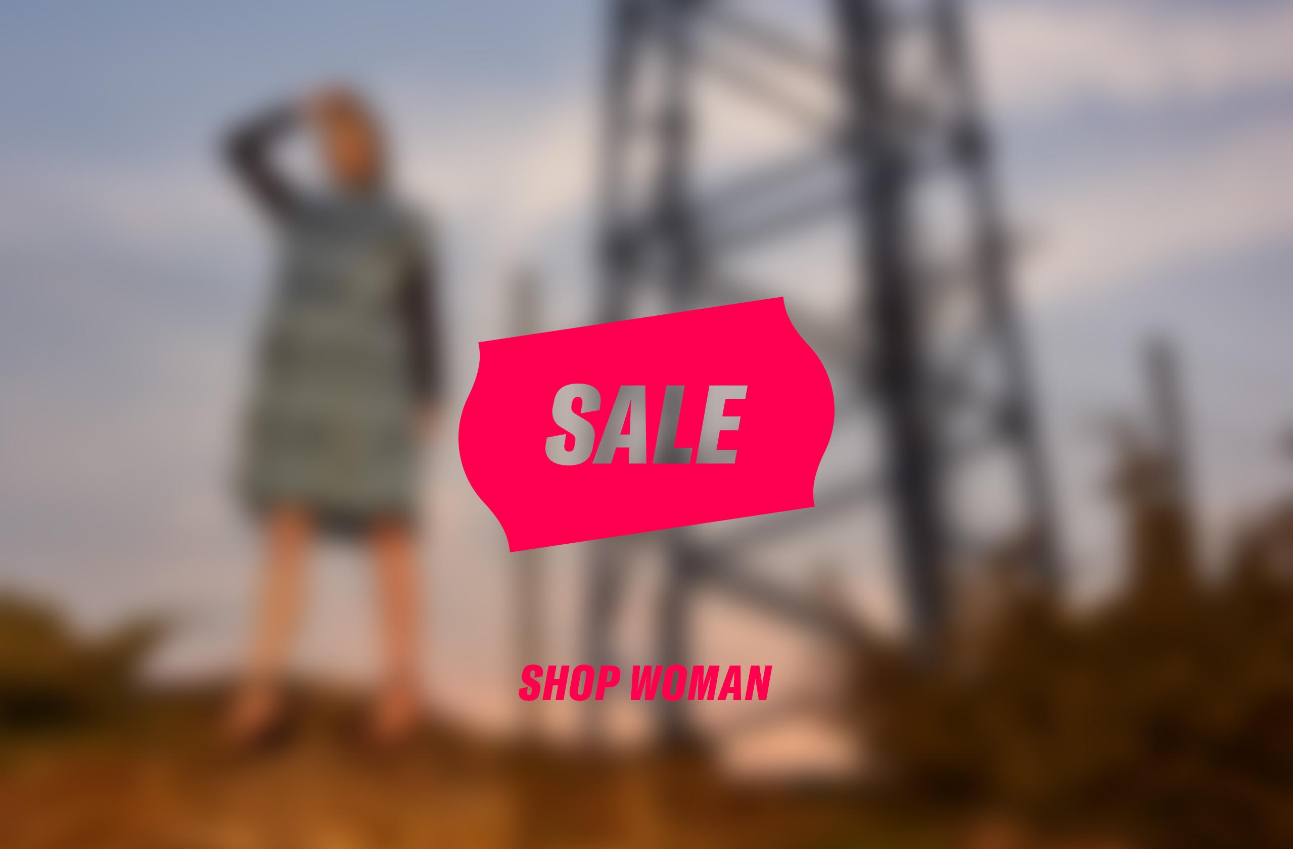 Woman Sale