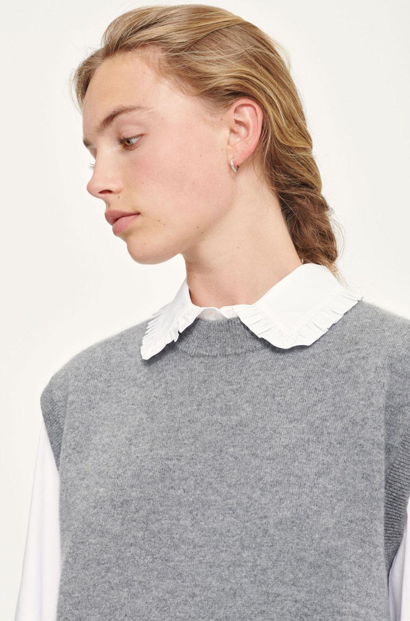 Nola vest mid grey mel Women's fashion M