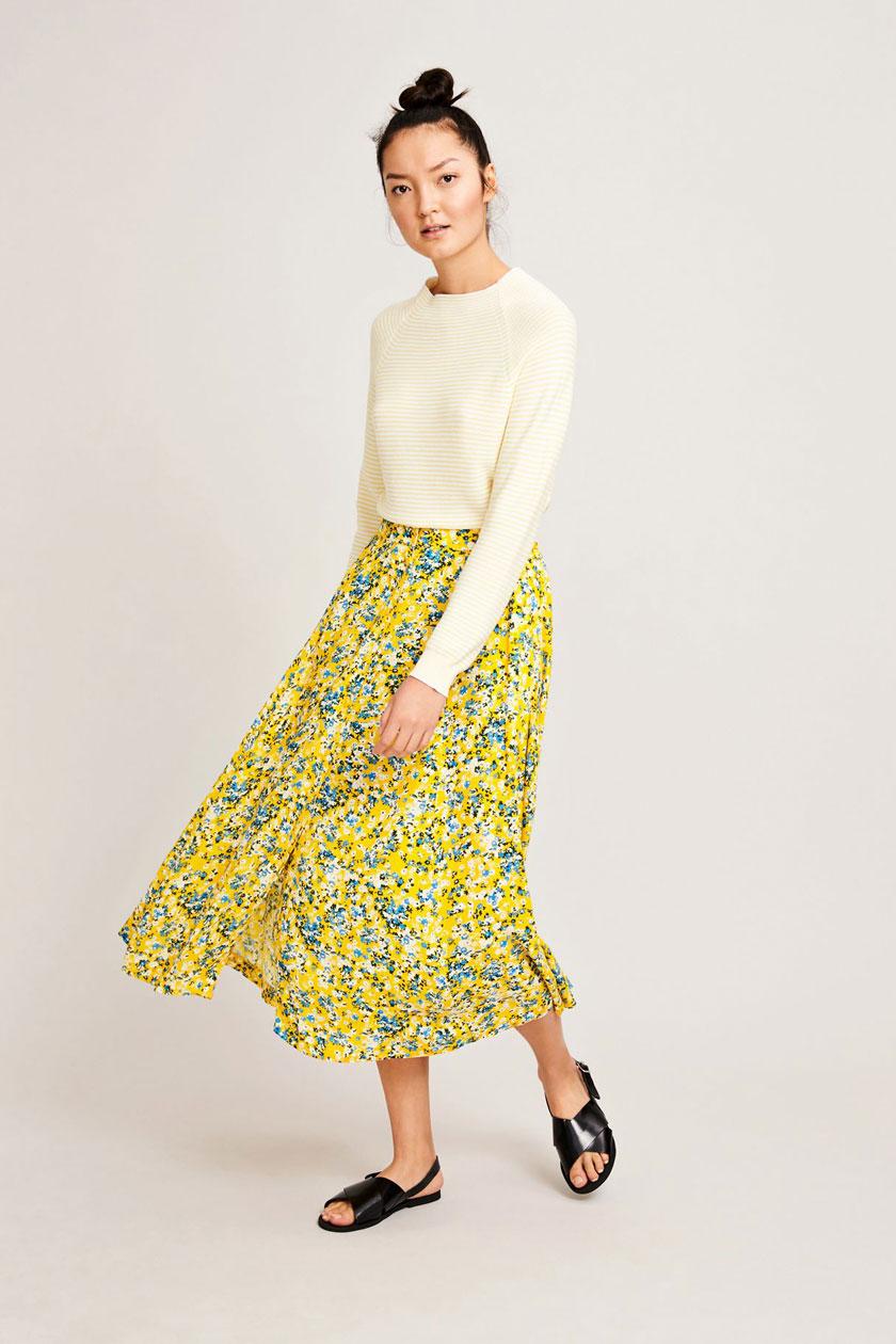 Bini skirt aop