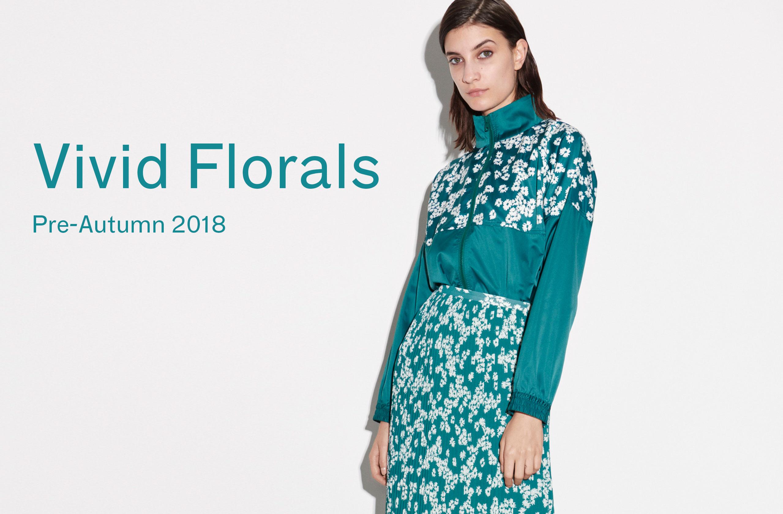 Woman Vivid Florals
