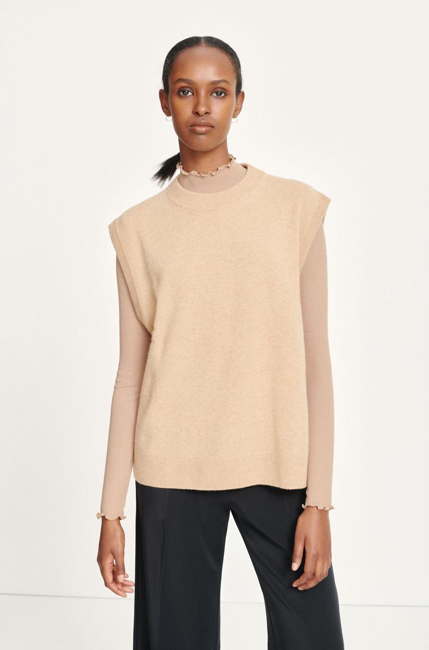 Nola vest khaki Women's fashion M