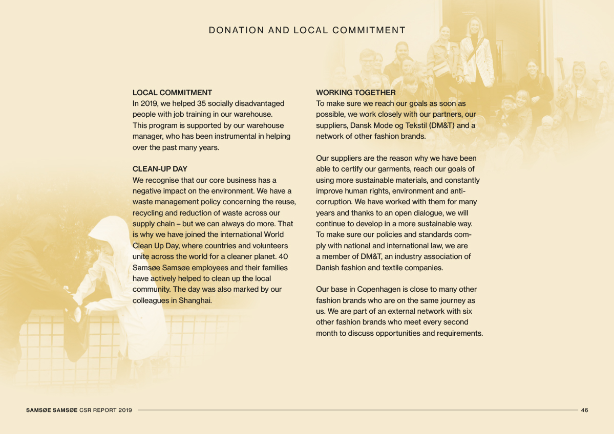 CSR Report 2019