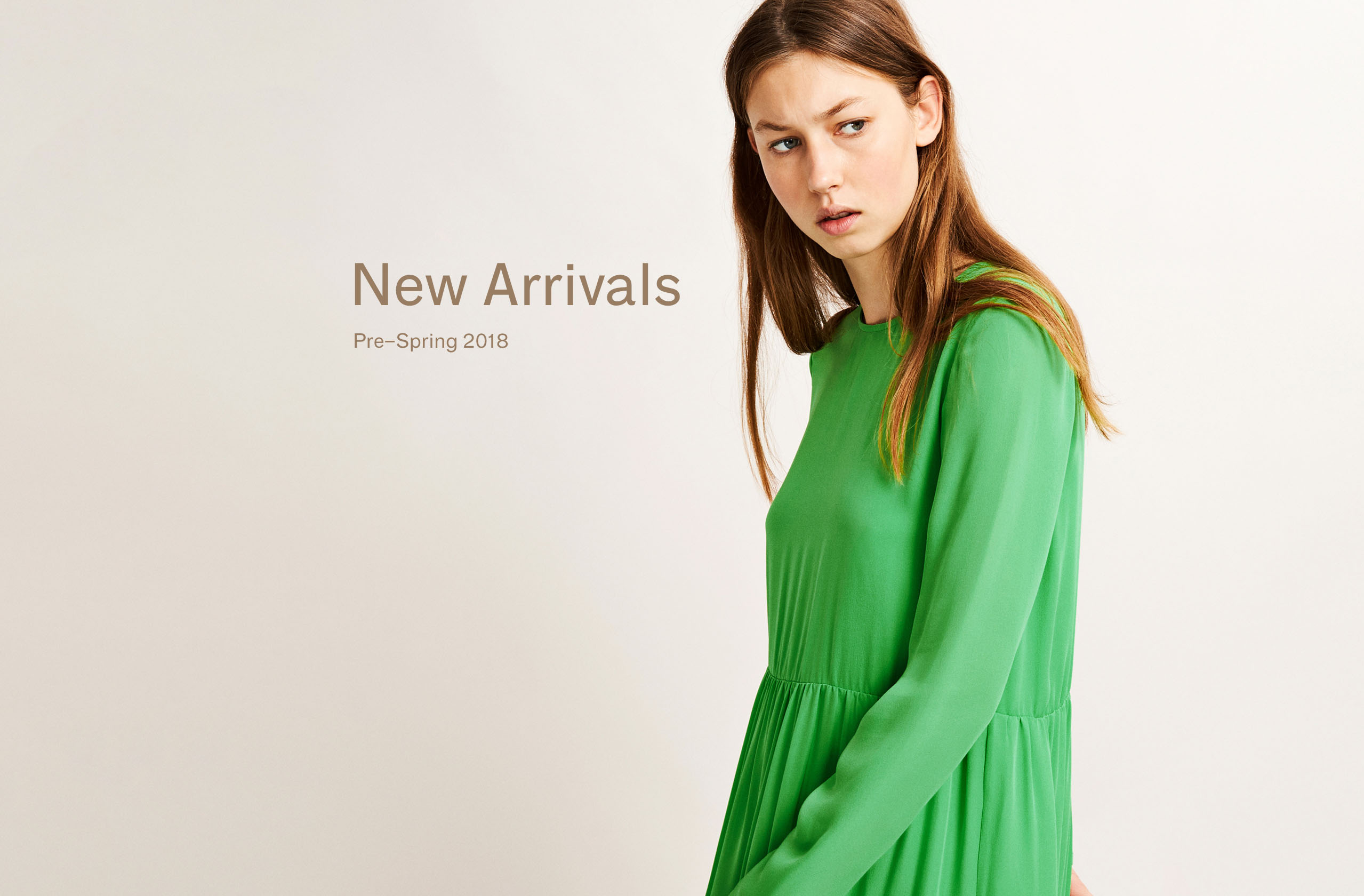 New Arrivals Pre-Spring 2018 Woman