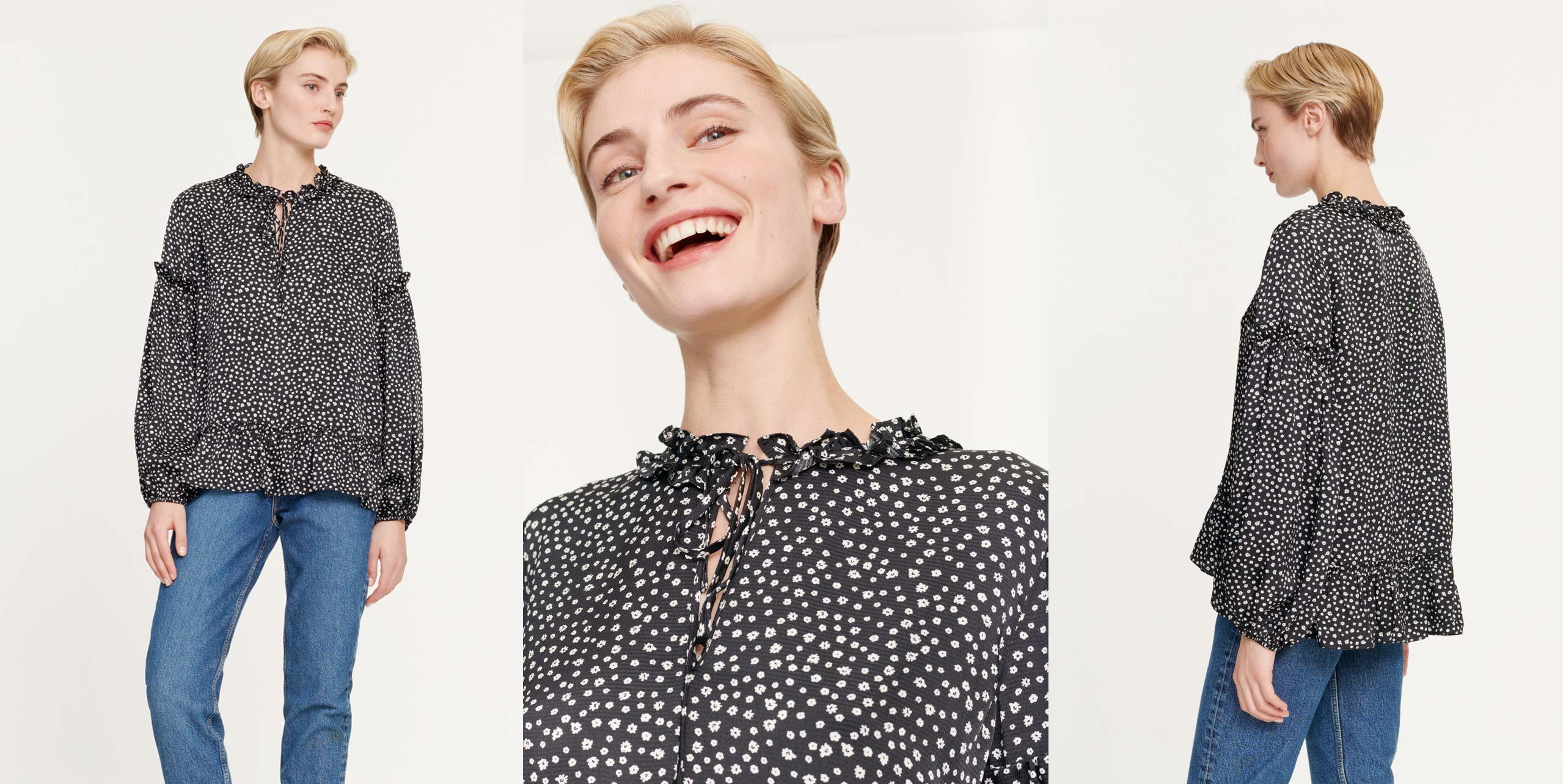 Vivre blouse top 12887
