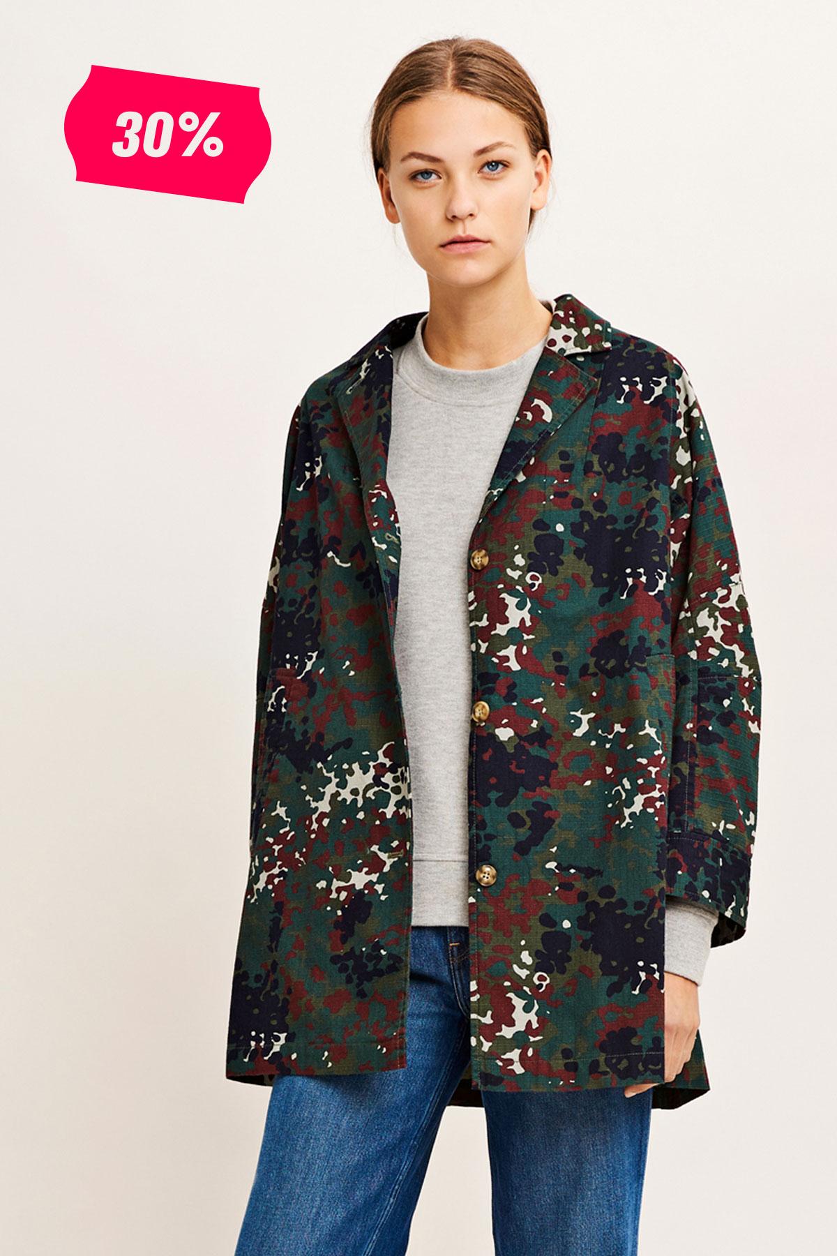 Posy jacket aop