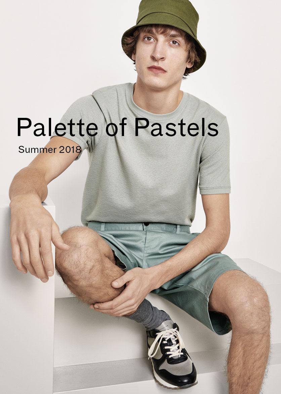 Man Pastel Shades