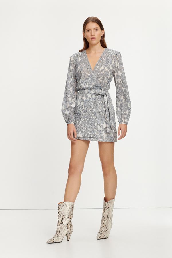 Josefia short dress aop 11453 Femme soldes robes Mode féminine