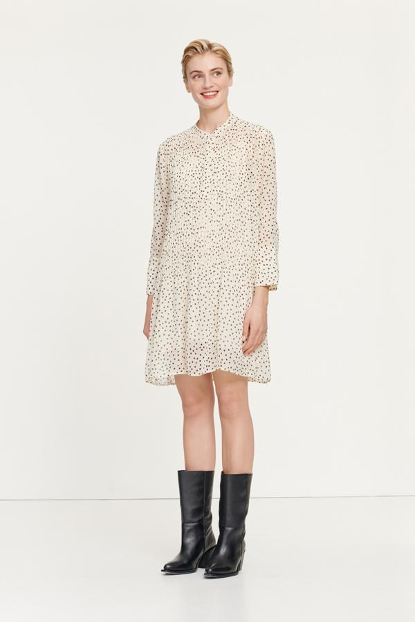 Elm short dress aop 9695 Women's fashion