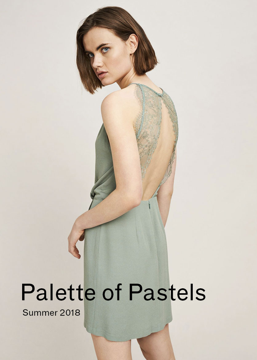 Woman Palette of Pastels