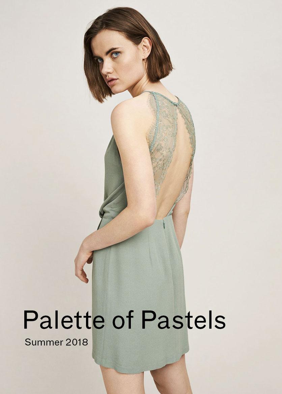 Woman Palette of Pastels