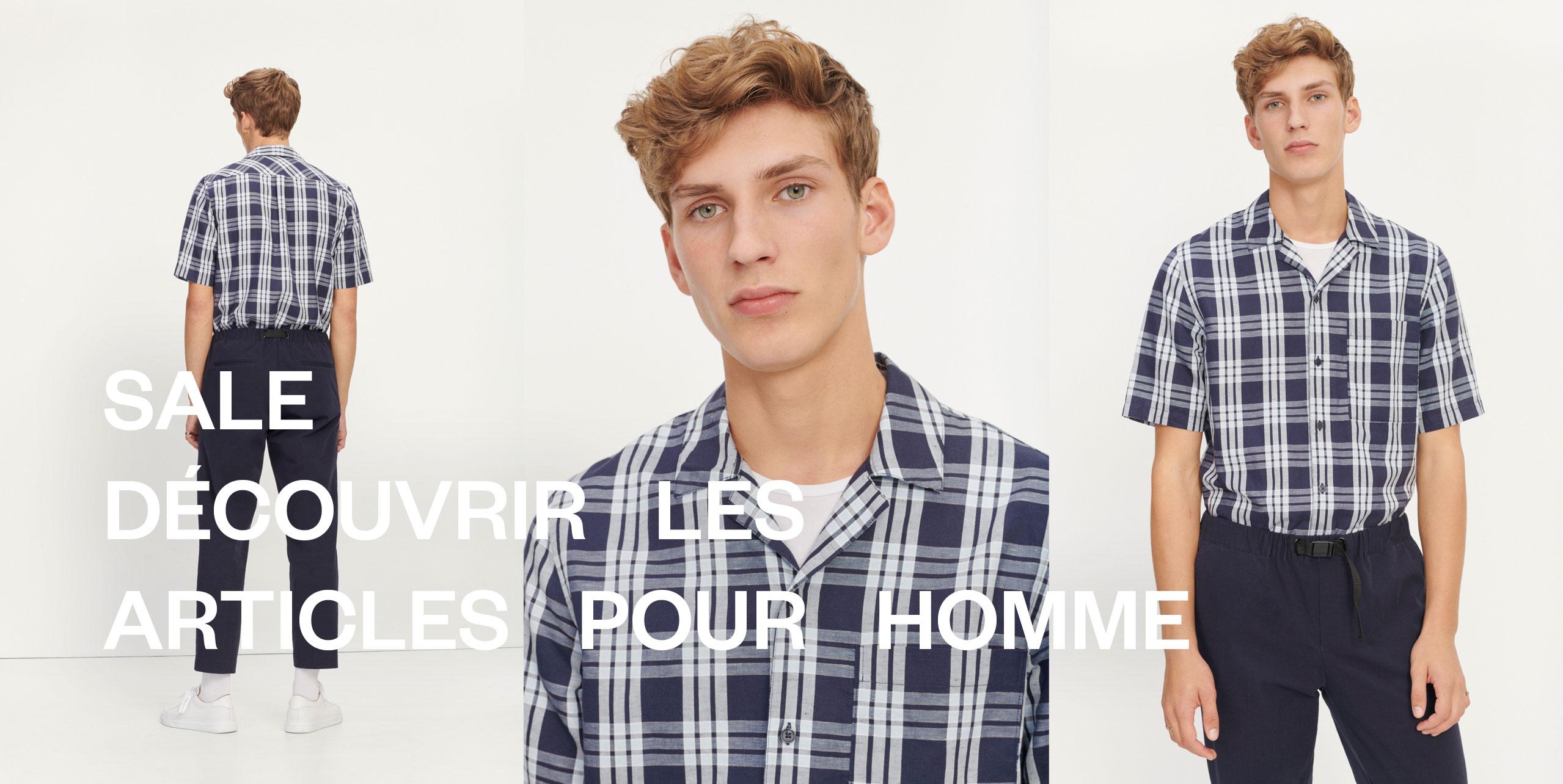 Les soldes Mode masculine