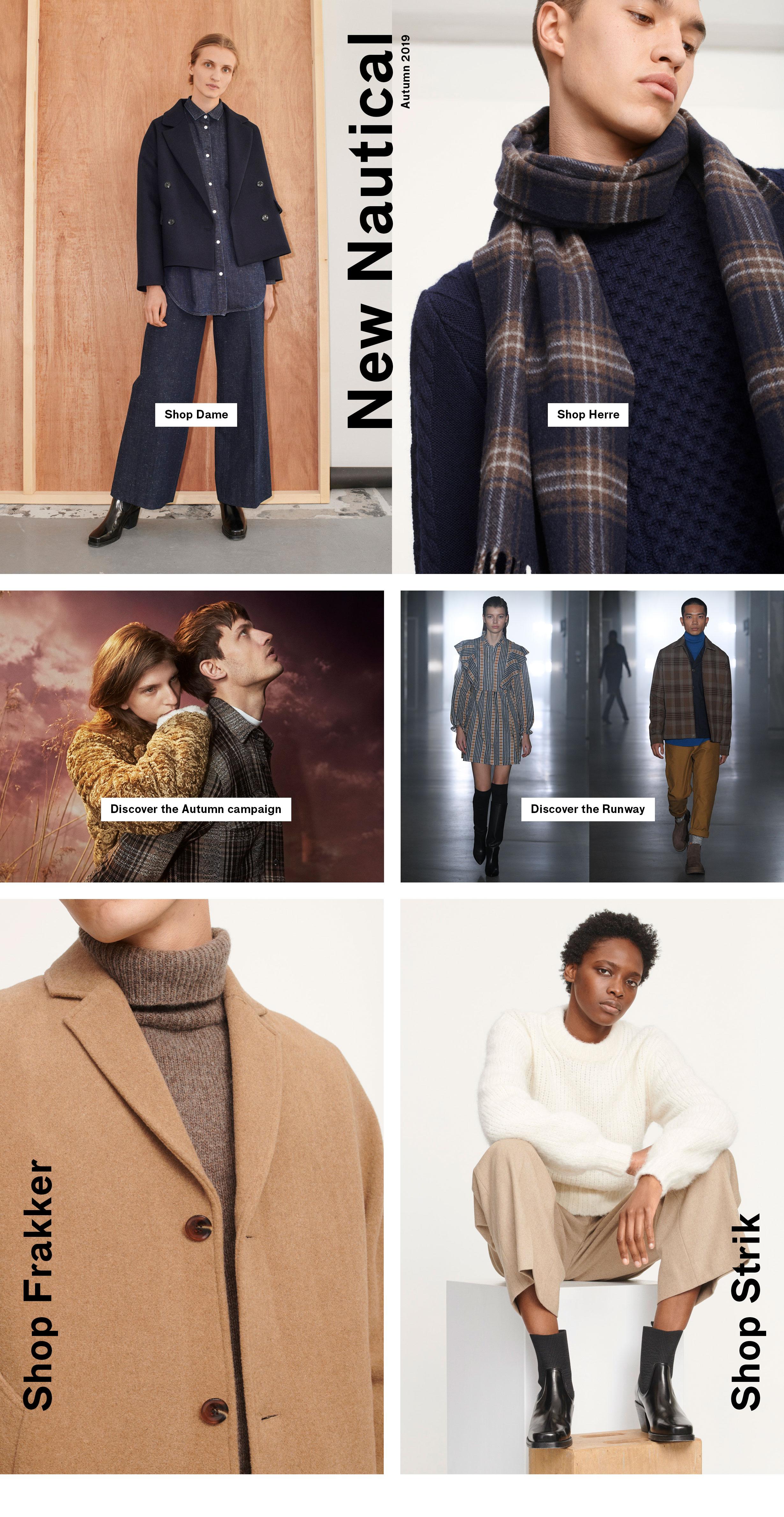 Modetøj til kvinder og Herremode