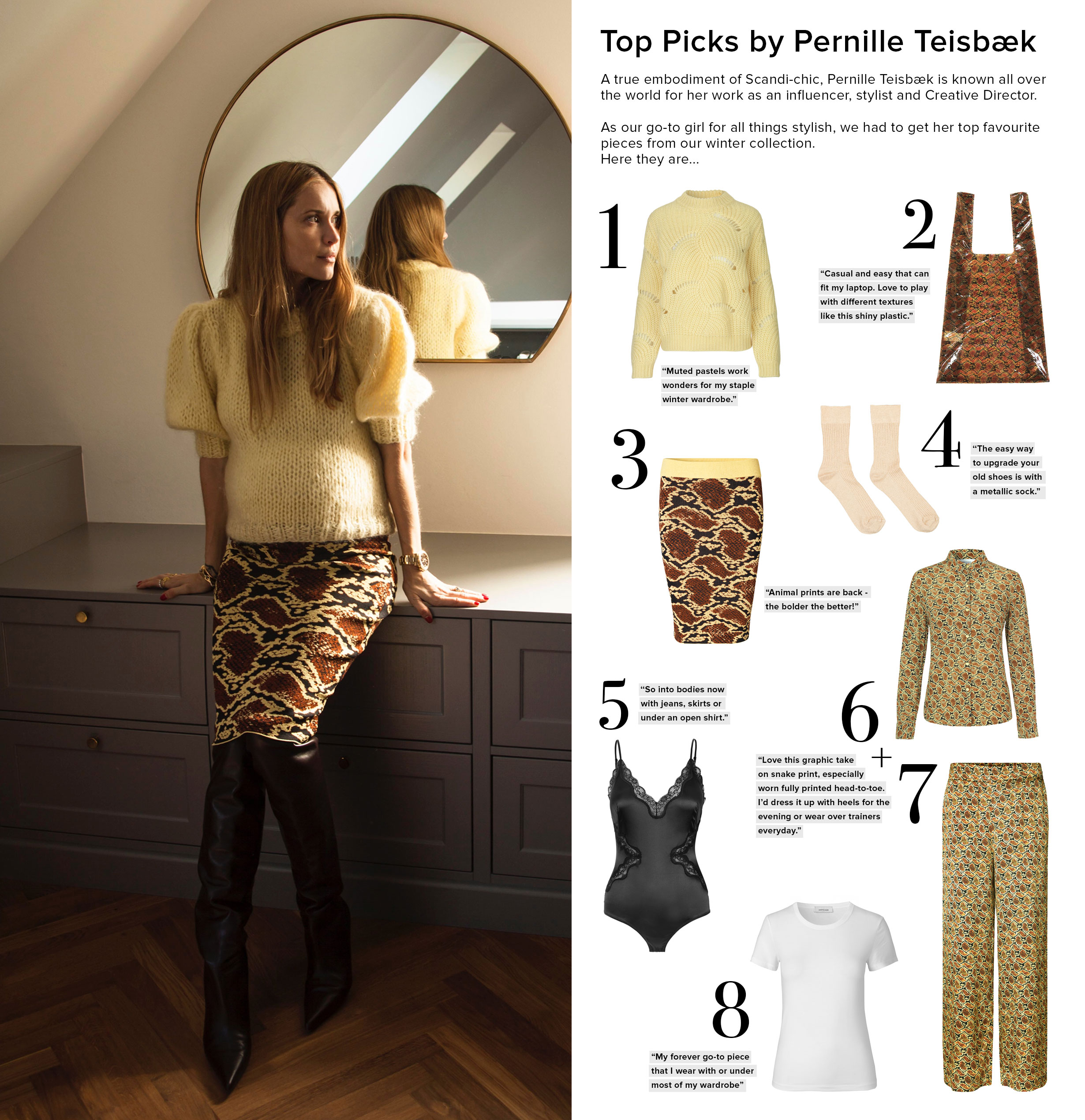 Top Picks Pernille Teisbaek