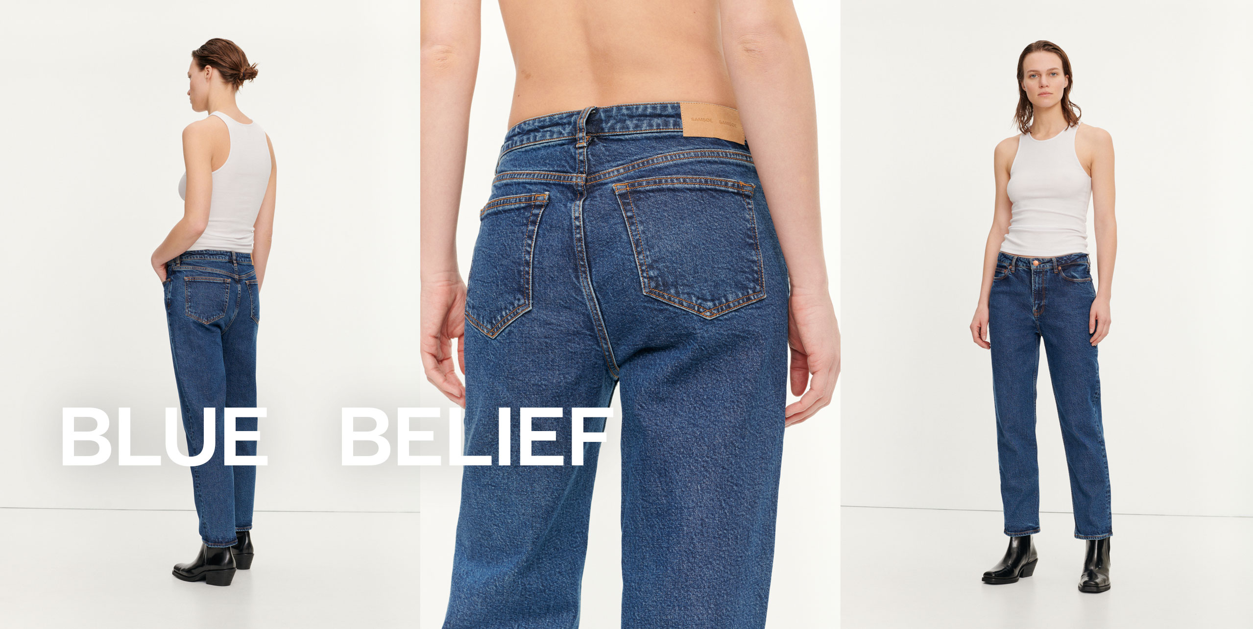 Blue Belief Women's fashion