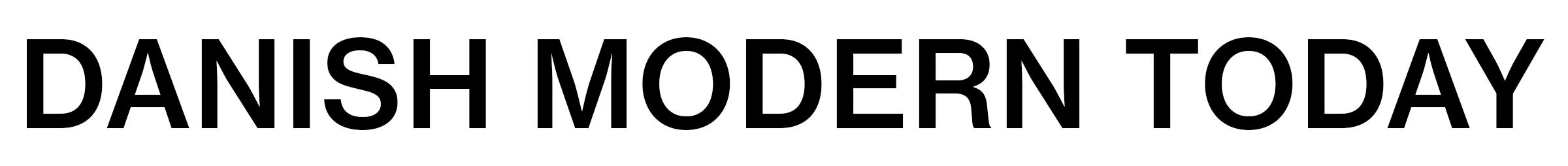 2020 Pre-Spring Editorial Danish Modern Today