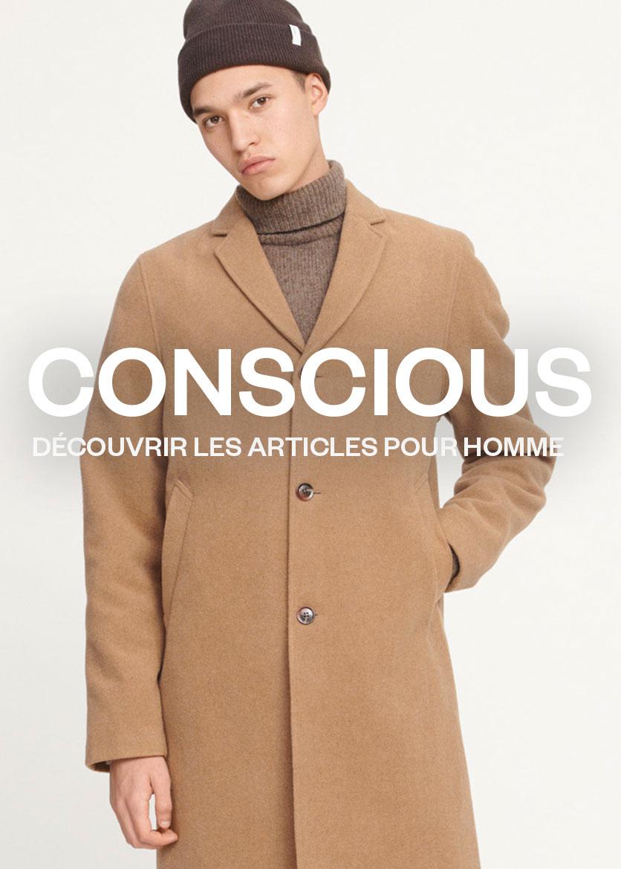 M La collection Conscious Homme