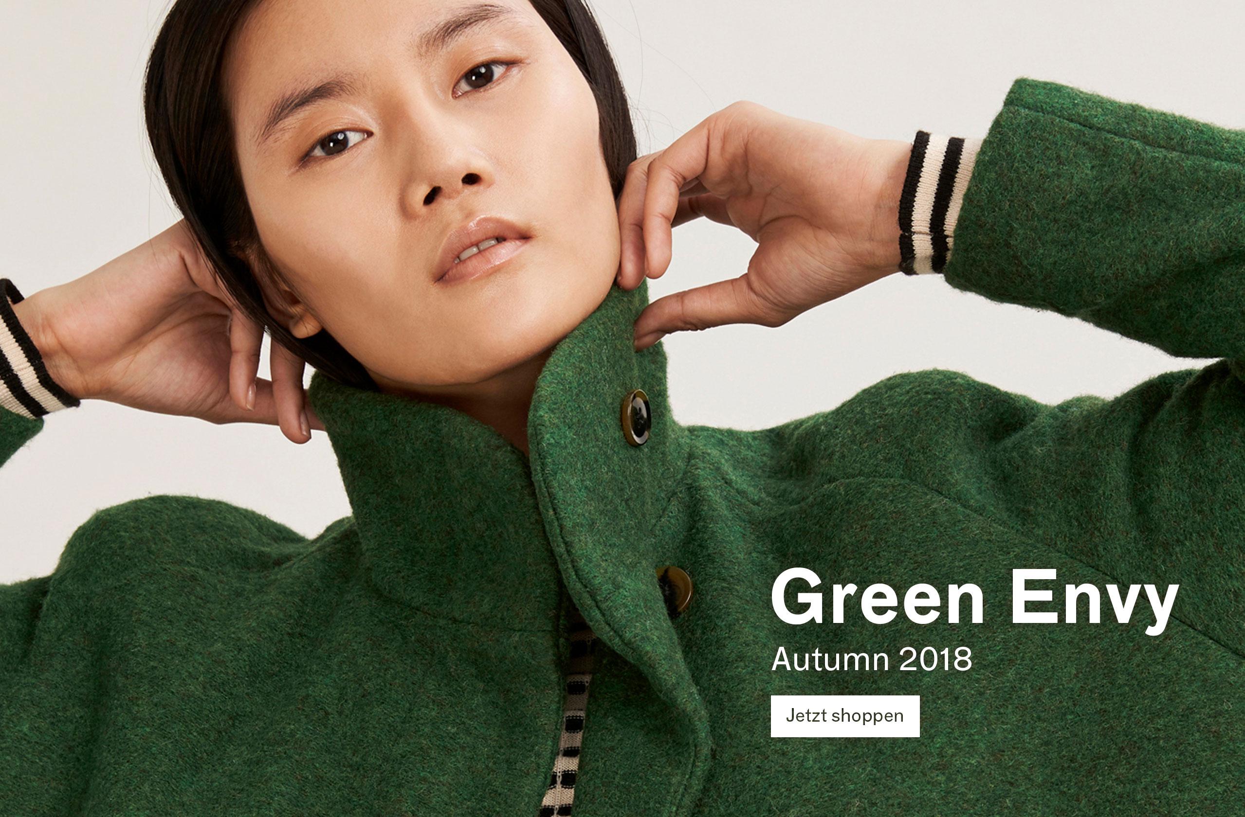 Damen Grün vor Neid