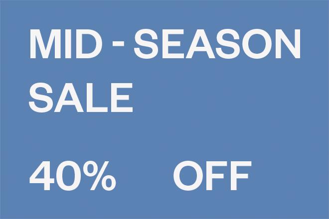 Mid-Season Sale Woman Flyout Banner