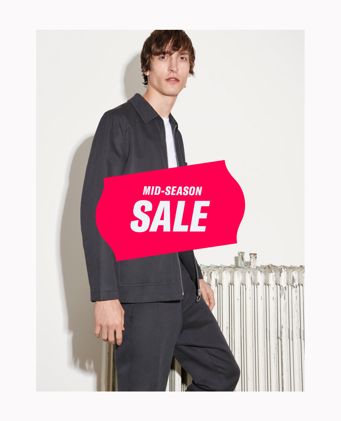 Mid-Season Sale Man Flyout Banner