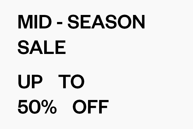 Mid-Season Sale Woman Flyout Banner