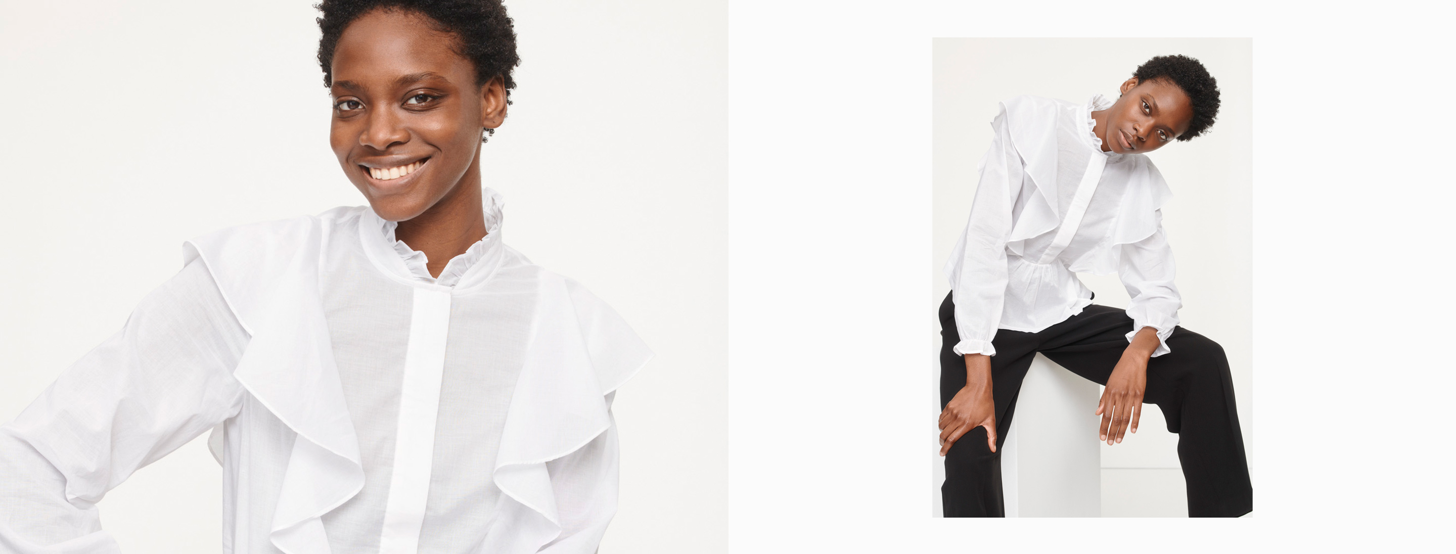 Woman Shirts & Tops Category
